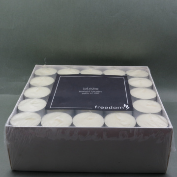 Dekorasi White Tealight Candle Tea