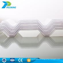 Дешевые цены понятно, используется рифленая пластичная новой волны кровельных листов пластмассы