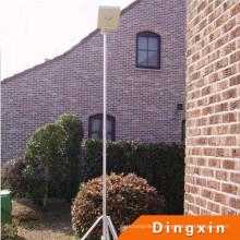 Poteau d'éclairage solaire de jardin de 12V LED