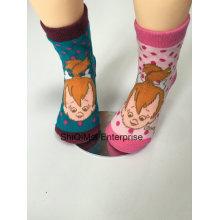 Usine de Chine personnalisés enfants enfants bébé Cartoon Polyester conception Happy Socks