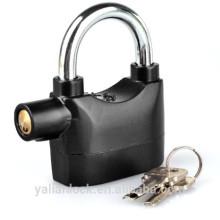 Joyluxy Goldiger Alarm Lock Verrouillage anti-vol de capteur de mouvement cadenas de sécurité avec 3 touches