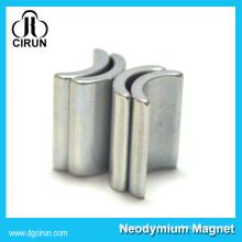 Custom Arc Shape Permanent Neodymium Motor Magnet for Wind Turbine