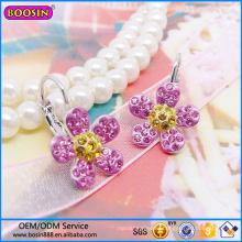 Guangzhou Boosin Fashion Jewelry Earring, Flower Shape Earring