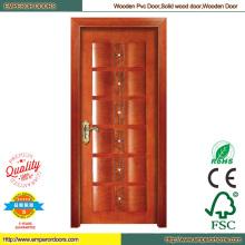 PVC Folding Door Closet Doors Teak Wood Door