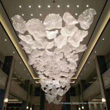 Modern Pendant Ceiling Lamps LED Crystal Beaded Chandelier Lights Hanging Light Fixture for hotel