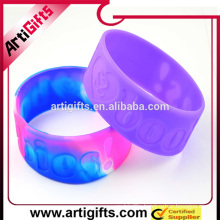 China suppliers wholesale alibaba new products silicon bracelet custom logo