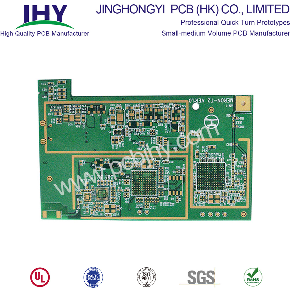 "Impedance Control PCB ENIG 2u"" BGA 6 Layer"