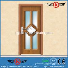 JK-P9221 фабрика продажа стеклянные ламинированные пвх кухонные шкафы двери