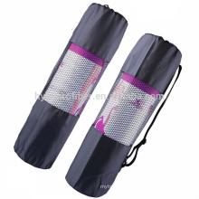 Waterproof nylon cloth yoga mat net storage bag