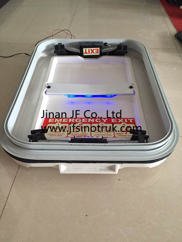 800B JF-019-017 OEM Bus Roof Hatch Roof Skylight