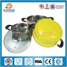 Woks antiaderentes de aço inoxidável de Chiness