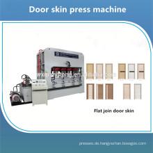 Flush Holz Tür Laminierung Heißpresse Maschine