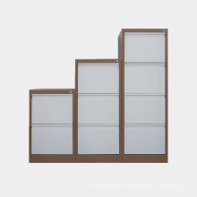 Luoyang mobiliário de escritório armário de aço de cor branca de alta qualidade de armazenamento de gabinete de escritório