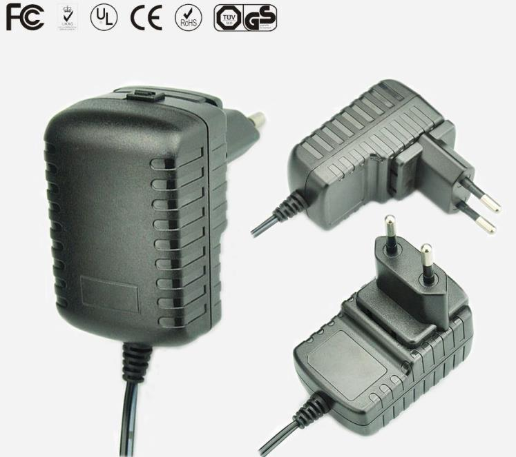 5v1a detachable plug power adapter