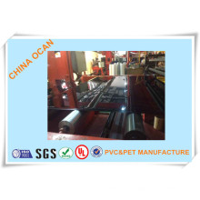 Folha de PVC preto alto brilho para impressão