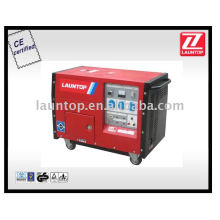 5KW Air Cooled Mobile Diesel Silent Generator