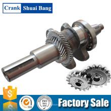 Le vilebrequin conique de qualité de Chongqing adapte à des moteurs à essence 188F / 190F / Gx390 / Gx420 appliqués pour des générateurs de 5 ~ 7Kw