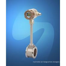 Medidor de fluxo de vórtice (100VF)