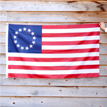 13 Sterne USA 3x5 Fuß Betsy Ross Flagge