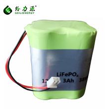 China atacado 4S1P 12.8 V 3Ah 22650 bateria recarregável da bateria lifepo4 lipo