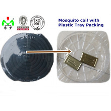 Bobina de mosquito negra barata de la fábrica de 125m m 130m m China para Bangladesh
