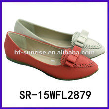 2015 flats custom comfort shoe pu shoes wholesale price shoes