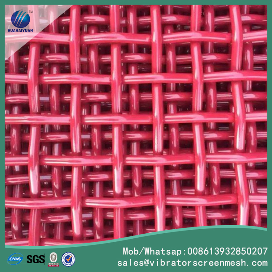 Red Mining Screen Mesh