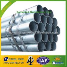 Tubo de soldadura de acero galvanizado