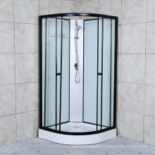 2021 Steam Shower Room with Black Aluminum