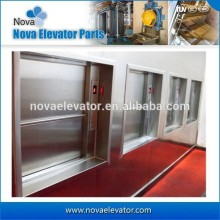 2 Floors 0.4m/s with Steel Structure 3 Phases 380v Dumbwatiter