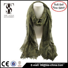 Bufanda de alto grado de la bufanda del verano de la manera de 2015 China del resorte