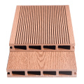 Classic Wood Grain WPC Outdoor Decking Easy Installation Composite Flooring
