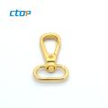 Most selling products wholesale gold metal dog leash swivel hook for handbag metal bag hook brass snap hook