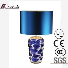 Transparente solide Glasbasis Tischlampe für Hotel-Projekt