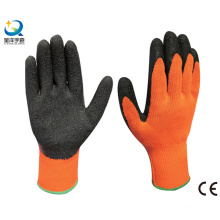 Terry Napping Lining Latex Palm Coated Work Glove