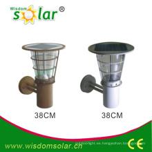 Nueva caliente CE al aire libre solar luz solar lámpara de pared (JR-2602-B)