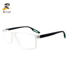 Fashion Hollow out Tip Square Tr Sports Optical Eyeglasses Frames
