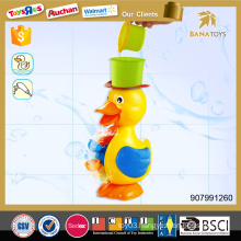 New design cartoon water bath duck baby bath toy