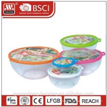 Plastique rond alimentaire Container(0.85L)