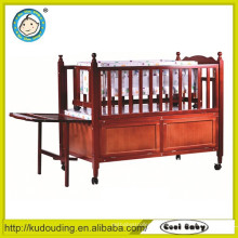 Quarto mobiliário bebê cama de madeira design cama