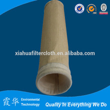Micron filtration cloth for dust collector