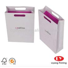 Factory Price Custom shopping printed paper bag