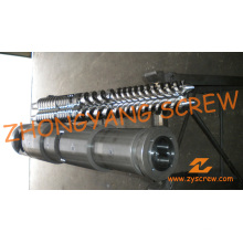 Conical Twin Screw and Barrel for PVC Sheet