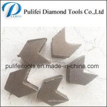 Сегмент круглого шлифования для Терраццо бетонный пол прочный шлифовальный блок