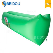 DIY Nylon Inflatable Laybag Sofa Lazy Sleeping Bags Air Bed