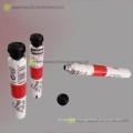 Einweg-Aluminiumrohr für Acrylfarbe Rohre