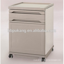 ABS and Steel Medical Bedside Cabinet