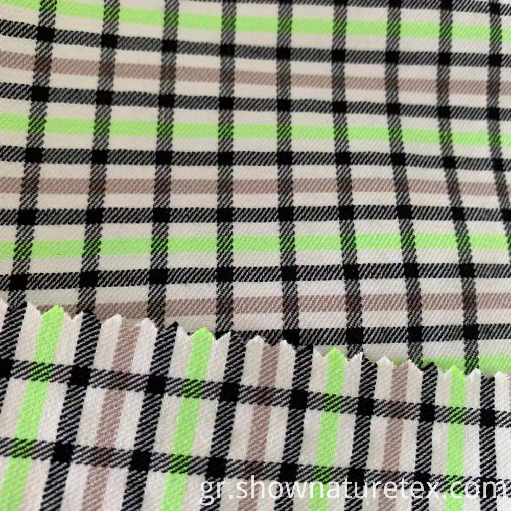 Beautiful Checks Fabric For Summer