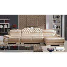 Meubles de maison, salon, canapé cuir, canapé d'Europe (SA315)