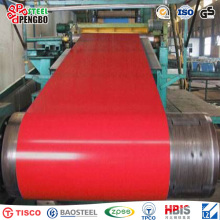 Buena calidad y bajo precio PPGI en Tianjin